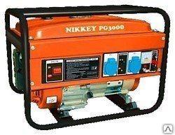 Электростанция бенз Nikkey PG 3000 (2.6/2.8 кВт 2)