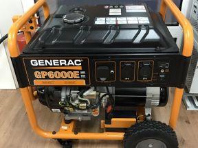 Бензиновый генератор Generac GP6000e (6 кВт) США
