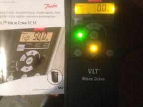 Частотный преобразователь Danfoss Micro Drive FC51