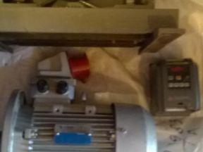 редуктор, электродвигатель, частотник