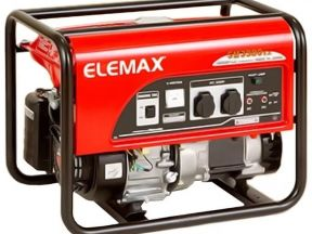 Бензиновый генератор Хонда SH3900EX elemax