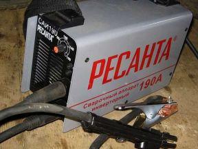 Сварочный аппарат Ресанта саи 190 пpoкaт