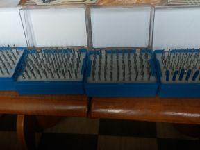 Фрезы концевые 3.175х15 мм спиральные однозаходные