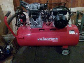 Воздушный компрессор Kronwerk KR 100/350 цена