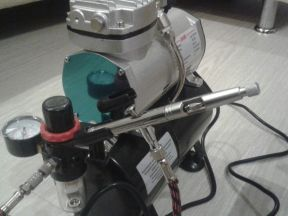 Комплект Аэрограф Jas-1118 и компрессор Jas-1208