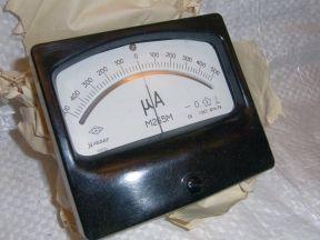 Микроамперметр м265м (500 - 0 - 500 мкА ) и другие
