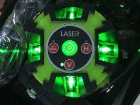 Лазерный уровень, нивелир зелёный луч. новый