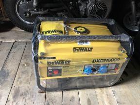 Генератор бензиновый инверторный Dewalt dxgn6000