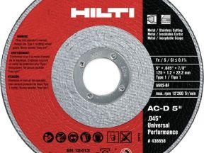 Диск отрезной по металлу hilti 230x1.8x22.23