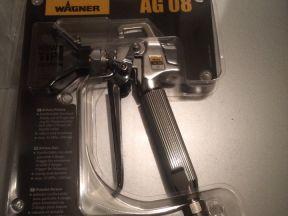 Окрасочный пистолет Wagner AG-08 + все что на фото