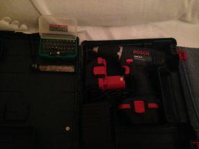 Шуруповерт Bosch GSR 12V Профессионал+биты, б/у