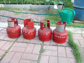 Баллон для газа 3 шт