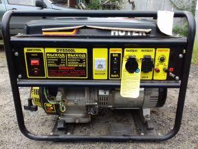 Электрогенератор бензиновый Huter DY6500L