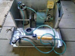 Горелка компрессорная на жидком топливе