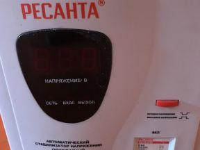 Стабилизатор напряжения Ресанта ACH 10 кВт