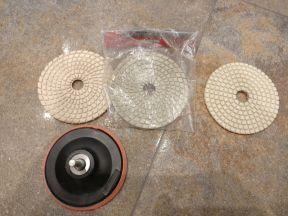 Алмазный гибкий шлифовальный круг 100 мм