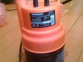 Дренажный насос Патриот 250W