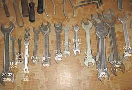 Рожковые гаечные ключи СССР