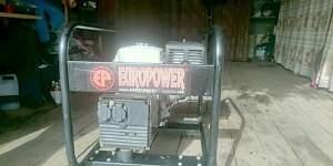 Europower бензогенератор бензиновый генератор