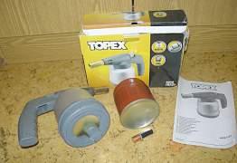 Рубанок металлический лампа паяльная topex коловор