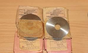 Фреза дисковая отрезная прорезная СССР Р18 Р6М5
