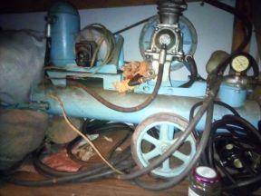 компрессор масляный 80-х годов