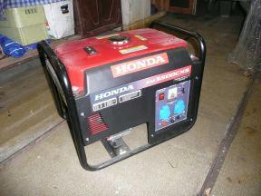 Бензиновый генератор 5500 Вт