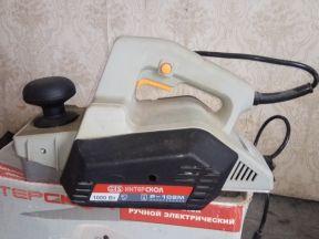 """Электрический рубанок """"Интерскол Р-102M"""""""
