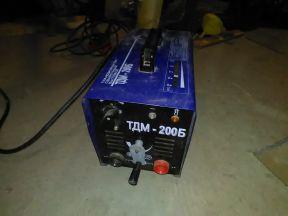 Сварочный аппарат (трансформатор) тдм 200 Б