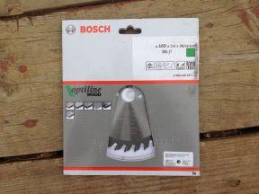 Bosch диск пильный Optiline 160х20х2.6мм z36