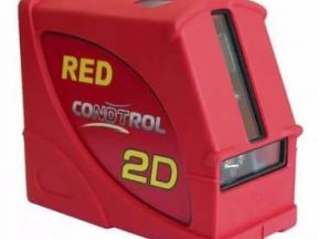 Лазерный нивелир Condtrol 2D RED