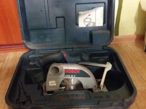 Ручная дисковая пила аккумуляторная bosch GKS 24 V