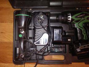шуруповерт аккумуляторный DS 12DVF3 hitachi