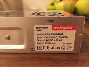 Блок питания (трансформатор) Arlight Aps-250-24BM