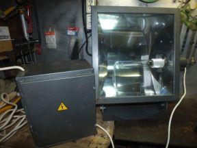Мачтовый прожектор жту 1х400, под лампы днат 400