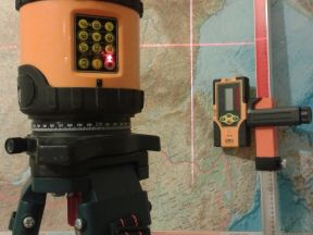 Ротационный лазерный нивелир Geo Fennel FL 1000