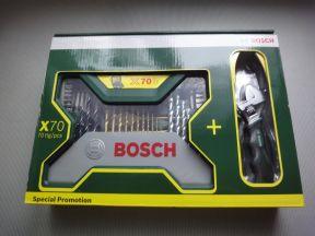 Набор бит и сверл bosch X-line-70 + подарок
