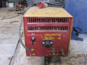 Сварочный выпрямитель спецэлектрод вд-200сэ
