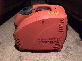 Бензиновый инверторный генератор hammer flexgnr3.5