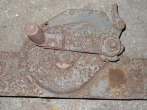 Домкрат железнодорожный реечный