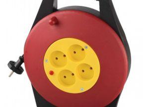 Удлинитель светозар 10м на катушке (SV-55071-10)