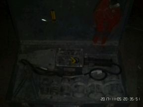 Сварочный аппарат для п/п трубы
