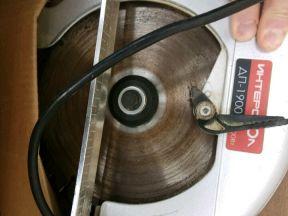 Пила дисковая дп 1900