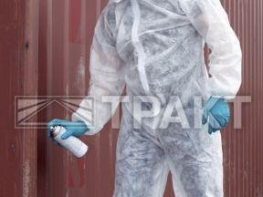 Пылезащитный костюм комбинезон