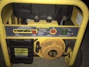 Бензиновый генератор champion EG3000