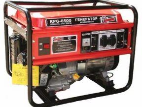бензиновый генератор, мощностью 6 кВт