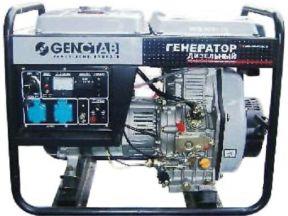 Дизельный генератор Genctab gsdg 6000cleh-W