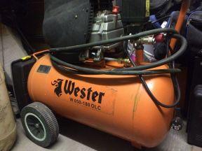 Поршневой масляный компрессор Wester W 050-180 OLC