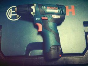 Шуруповерт новый Bosch GSR 12V-20