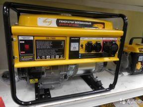 Бензиновый генератор Denzel GE 7900, 6.5 кВт